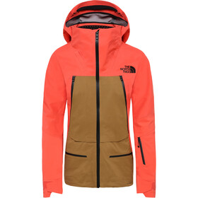 The North Face Purist Jacket Dame Radiant Orange/British Khaki